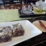 お餅カフェのジルシルで伝統茶とトックをいただきます