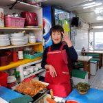 釜山の味 コムジャンオをチャガルチ市場で食べる