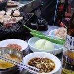 釜山で必ず食べて欲しいホルモン焼!(チャガルチ市場横)追記あり