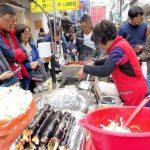 露店で食べる!釜山国際市場はB級グルメ天国!