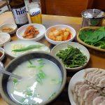 釜山西面のお気に入り店 慶州クッパのデジクッパ