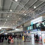 綺麗になった釜山の金海国際空港