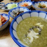 釜山西面の朝食のおススメ!済州家のアワビ粥