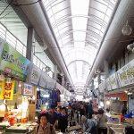 釜山最大!釜田市場を巡る②海苔巻きゲット