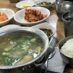 これぞソウルの庶民の味!南大門市場のタッコムタン