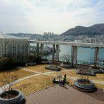 景色が素晴らしい!釜山南浦洞のロッテデパート屋上