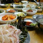 お一人様OK!釜山有名店「釜山名物刺身屋」で韓国式お刺身定食