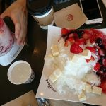 韓国旅行でカフェべネ春の新作デザートいただきます
