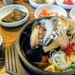 韓国で超有名な江原道のアワビ鍋で大興奮!
