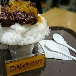 釜山で有名かき氷「ハルメパッピンス」ロッテデパート西面