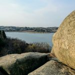 韓国江南道の観光地、永郎湖(ヨンナンホ)と巨石にびっくり!