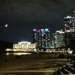 韓国有数の海リゾートの海雲台で遊ぶ(夜編)