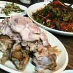 韓国の豚足を食べるなら、豚足通りへ行こう!足会館(チョクフェグァン)で夕食