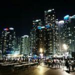 最高の夜景を堪能!釜山の海雲台The bay 101でビール