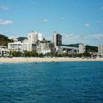 釜山の地元の人達はココのビーチに行く!「松亭海水浴場」