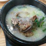 ソウル女一人旅! 仁川空港近くのナジュコムタン(羅州コムタン)でご飯