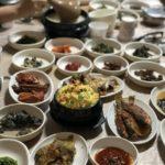 全羅南道の順天で食べた「チャンウォン食堂」の山菜ナムル