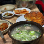 仁寺洞近くの庶民派食堂「ユジンシクタン」で冷麺ランチ