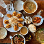 ミシュラン掲載店♩聖水のミルボンお腹いっぱいランチ