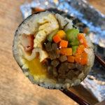ソウル通仁市場で1番美味しいキンパはコレ!